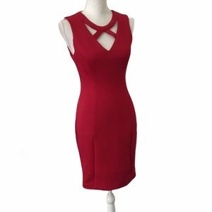 Guess Strappy Bodycon Dress Size 6